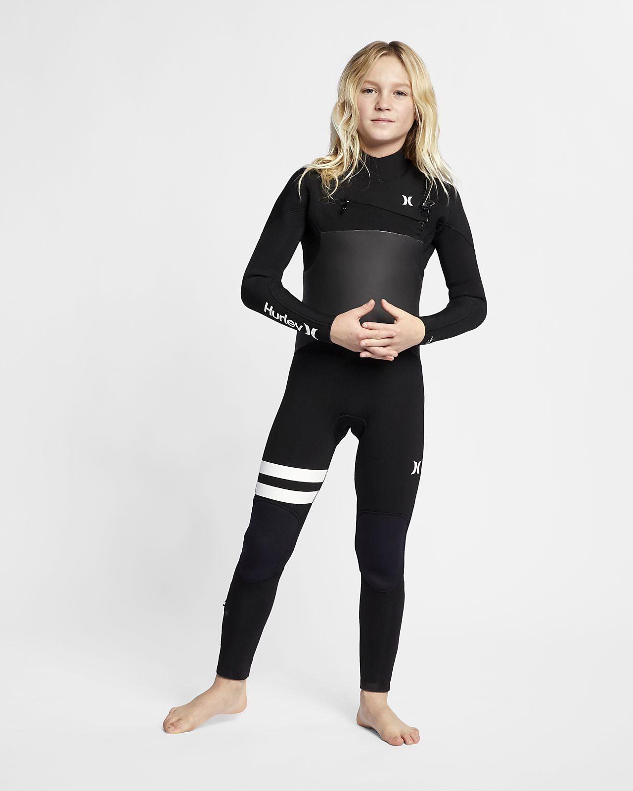 Hurley Advantage Plus 5/3mm Fullsuit-våddragt til store børn (drenge)