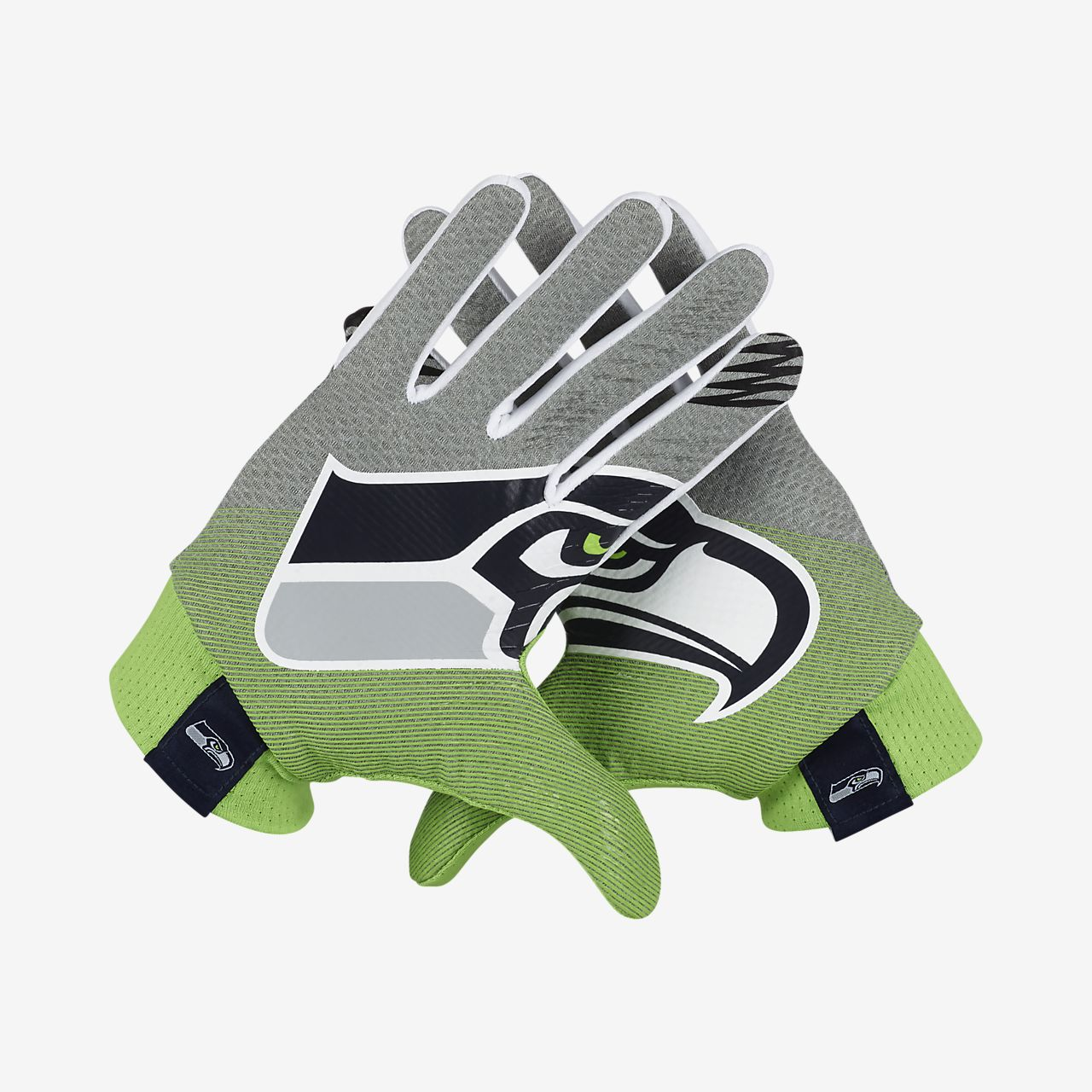 56fb0f53958 Nike Stadium (NFL Seahawks) Football Gloves. Nike.com
