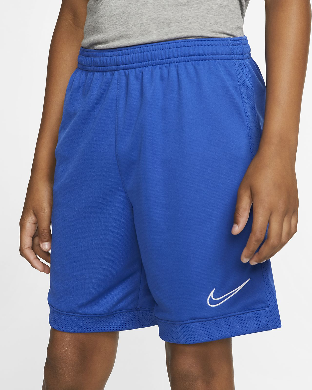Nike Dri-FIT Academy fotballshorts til store barn