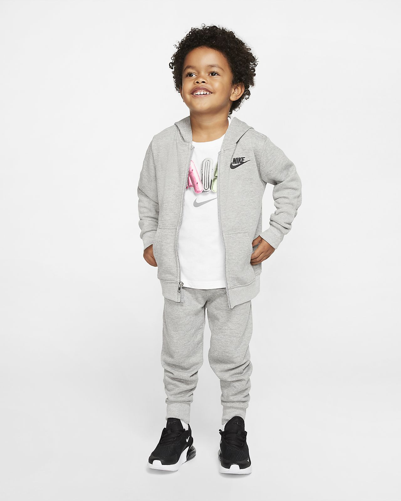 Nike Sportswear Toddler Hoodie and Joggers Set