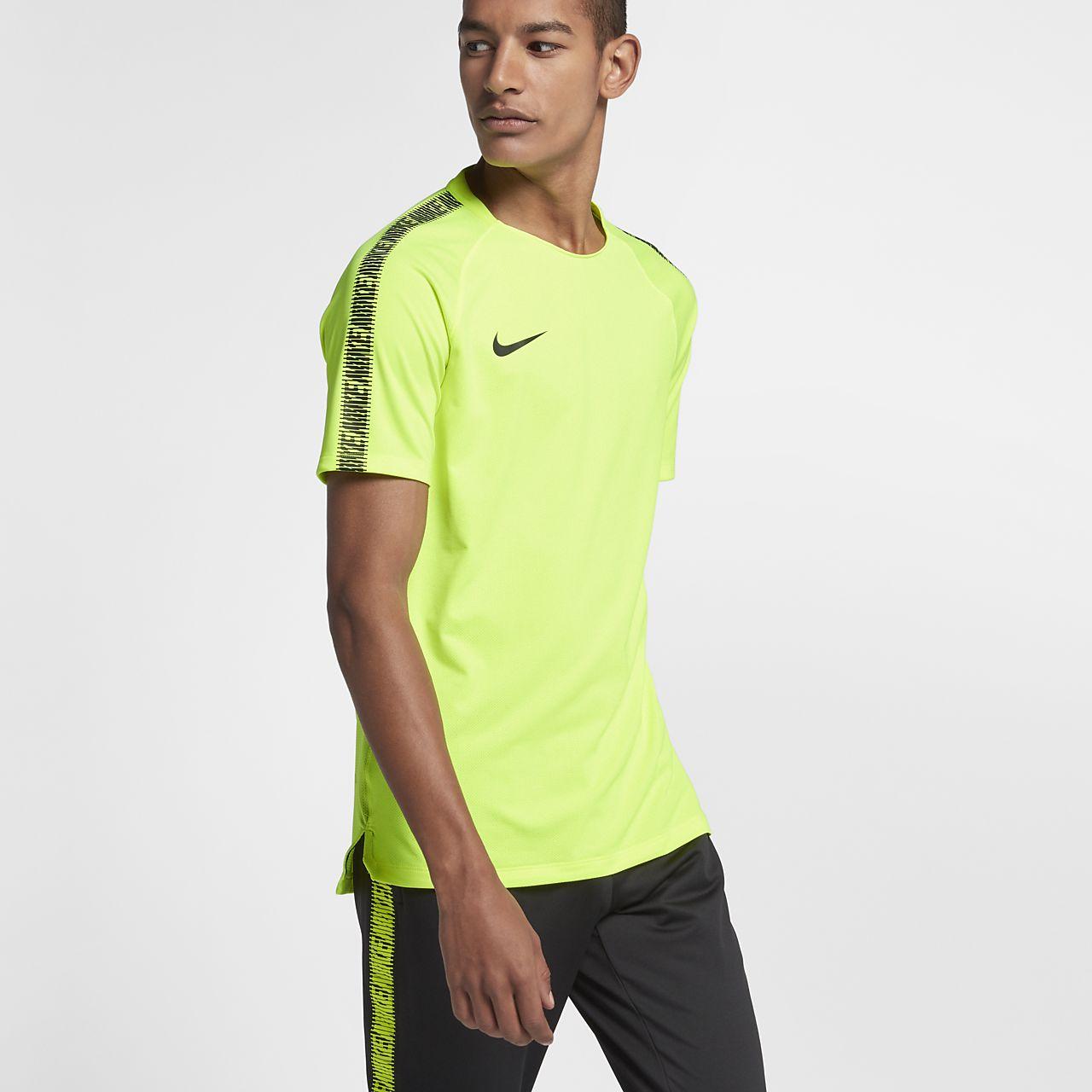 Nike Breathe Squad 男款短袖足球上衣
