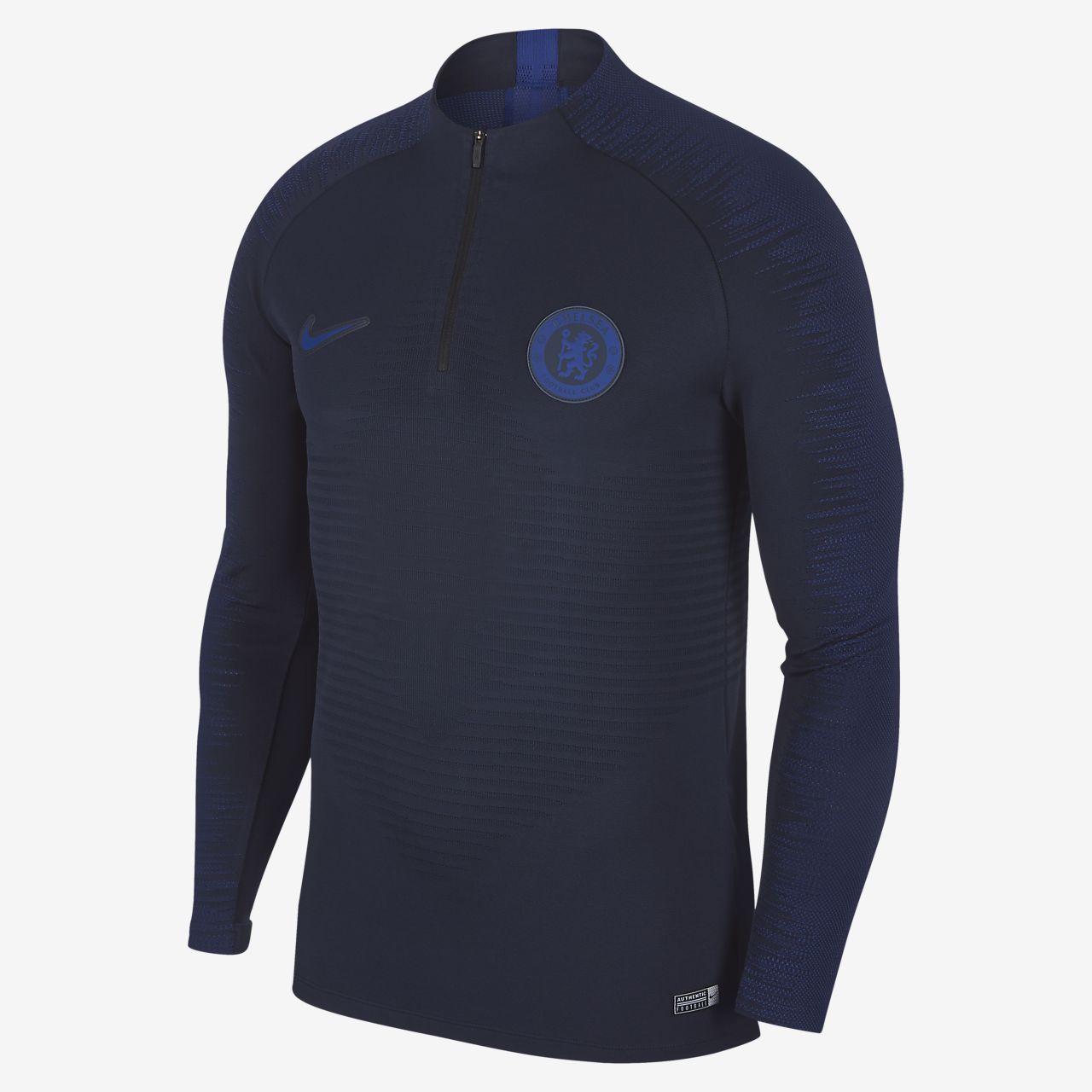 Nike VaporKnit Chelsea FC Strike Drill-Fußballoberteil für Herren