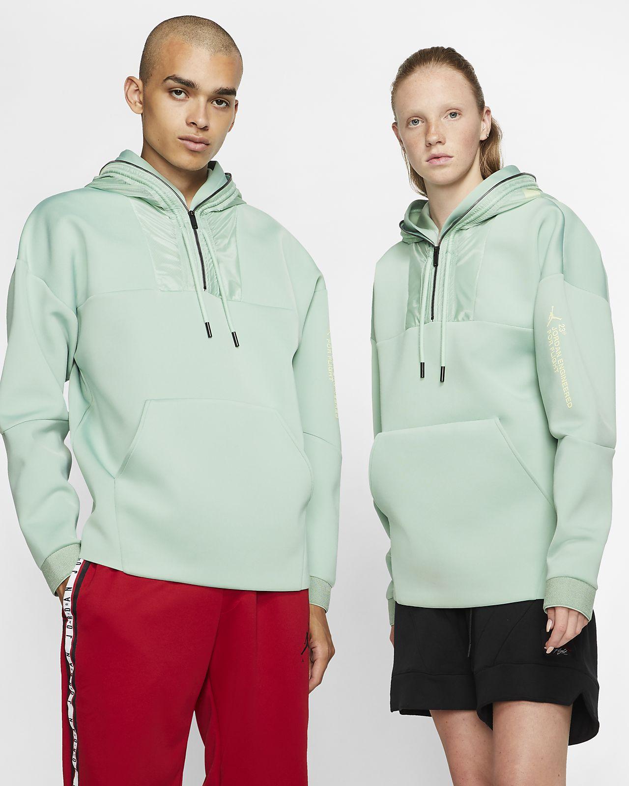 Μπλούζα με κουκούλα και φερμουάρ στο μισό μήκος Jordan 23 Engineered