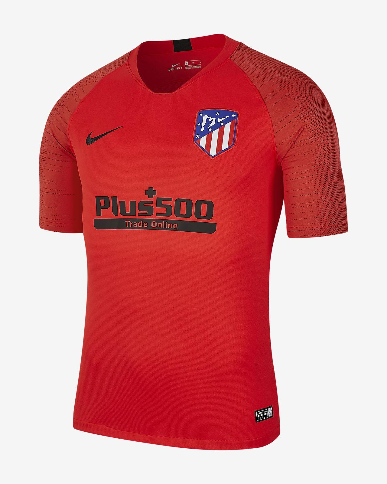 Prenda para la parte superior de fútbol de manga corta para hombre Atlético de Madrid Strike