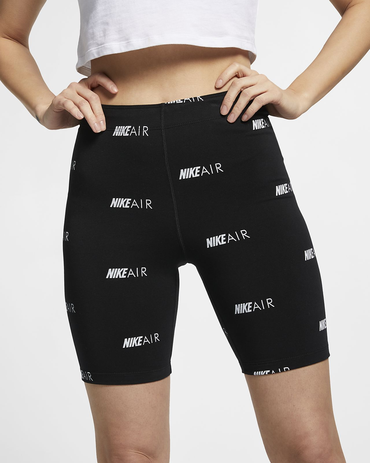 Женские шорты с принтом Nike Air