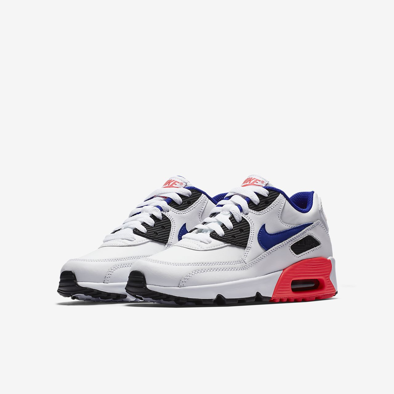 4b3f6782651 Nike Air Max 90 Leather Older Kids Shoe .