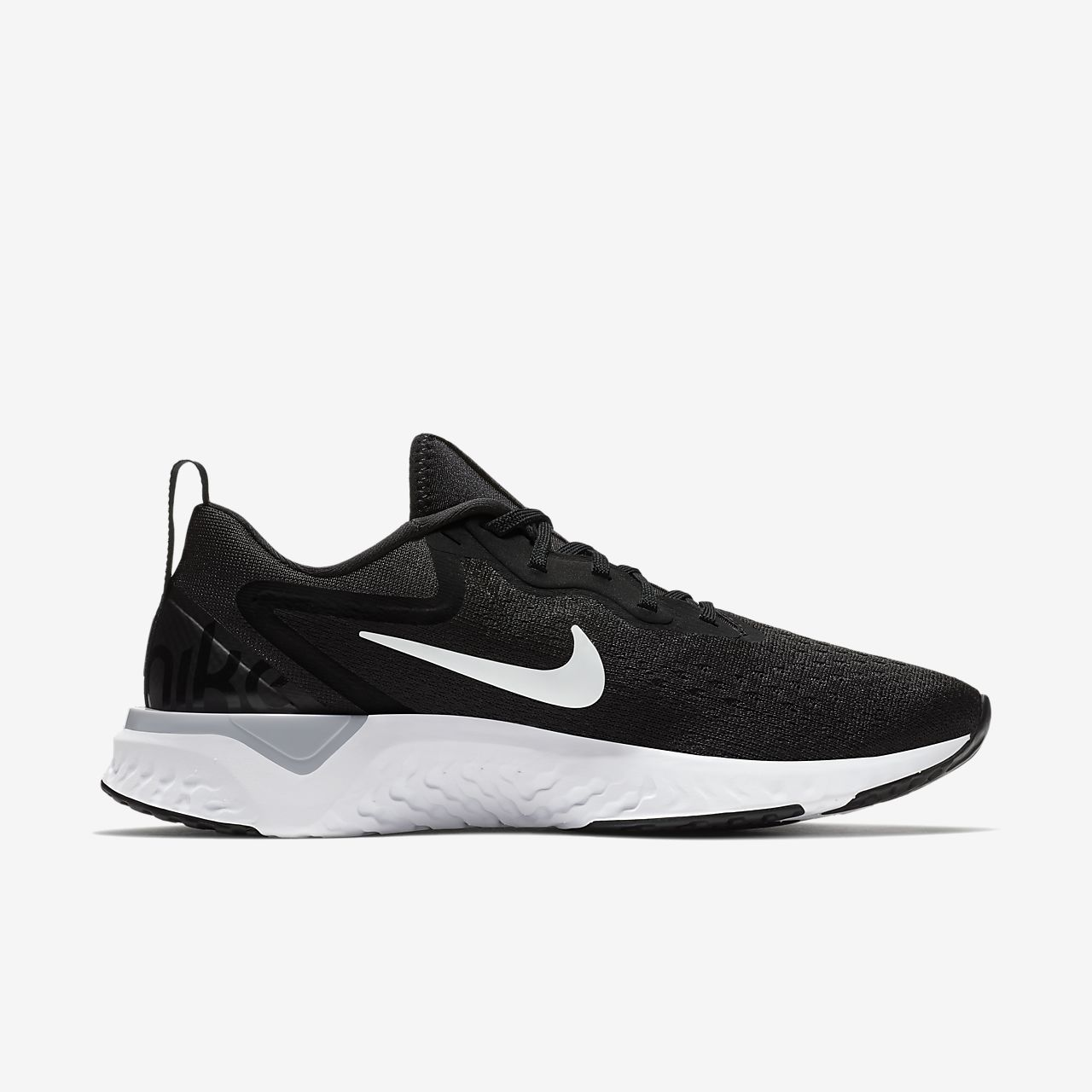 Nike Uomo Scarpe da corsa Nike Nike Odyssey REAGIRE NERO BIANCO