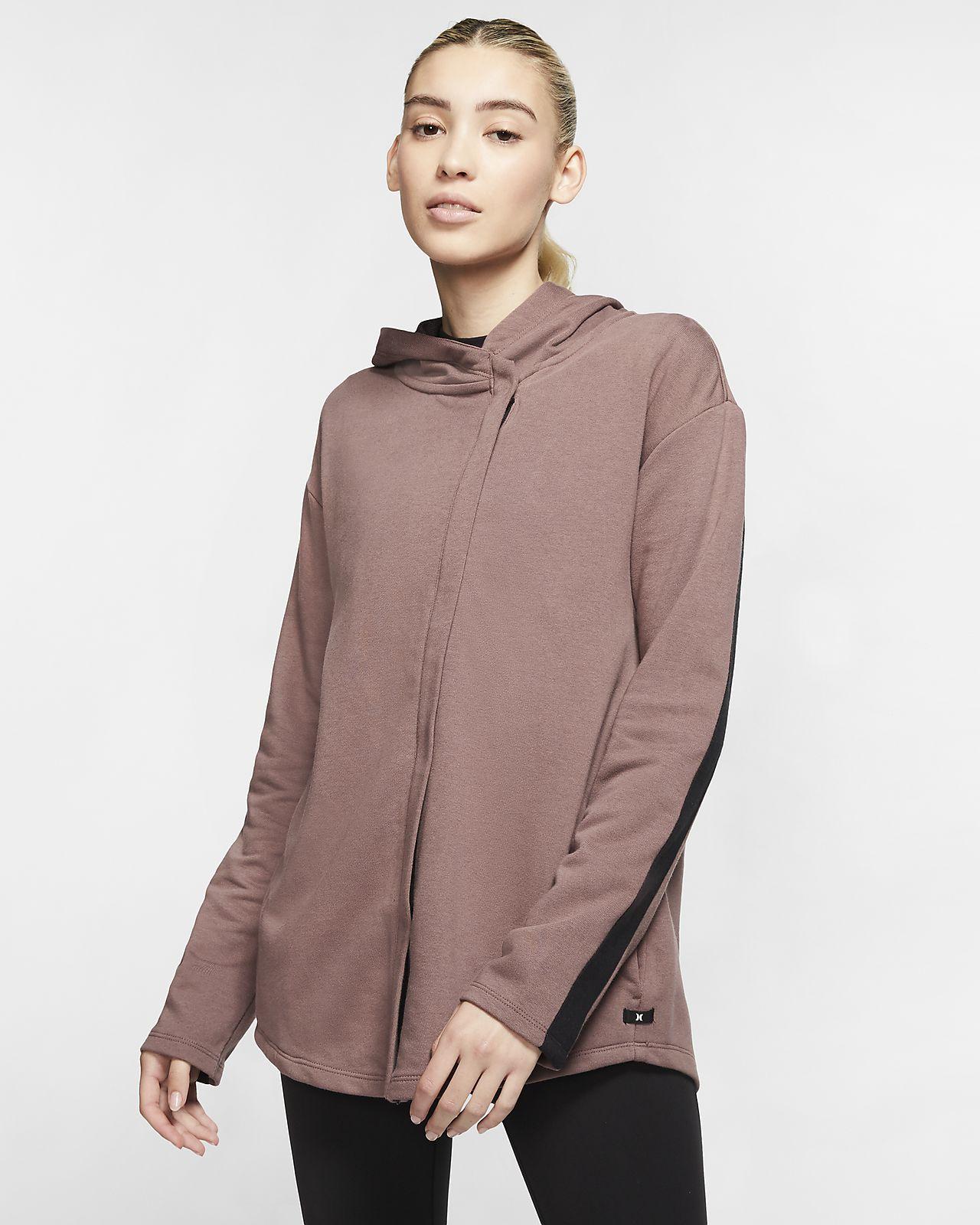 Hurley Dri-FIT Wash Women's Full-Zip Fleece Top