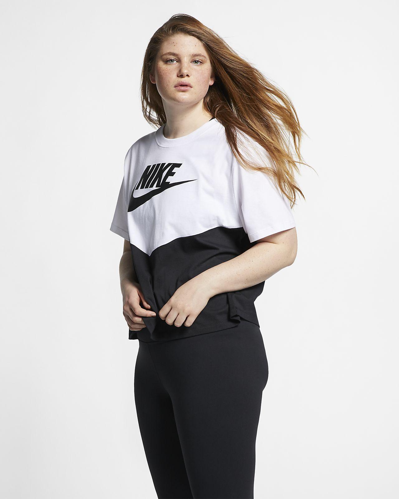 129c4a6c Nike Sportswear Heritage Women's Short-Sleeve Top (Plus Size). Nike ...