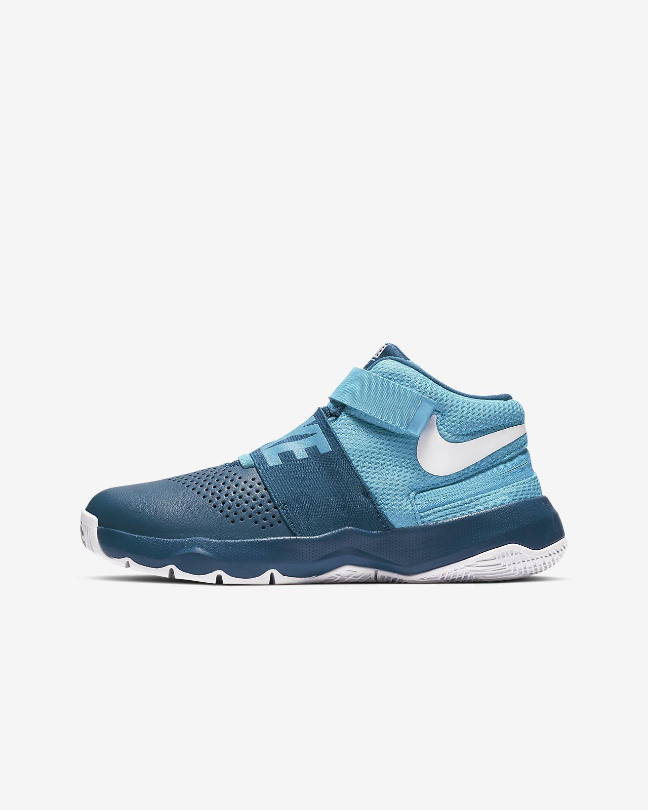 Basketbalová bota Nike Team Hustle D 8 FlyEase pro větší děti
