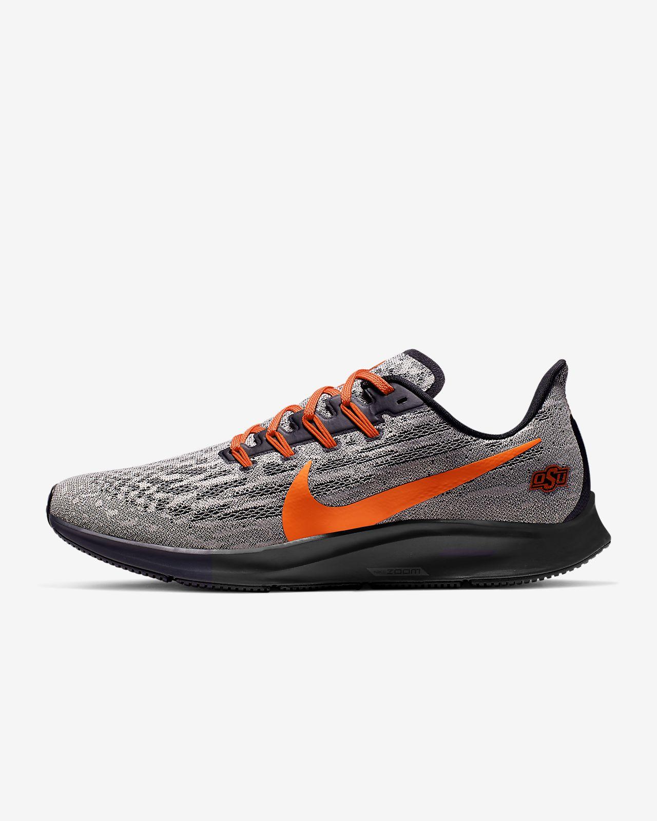 Nike Air Zoom Pegasus 36 (Oklahoma State) Men's Running Shoe