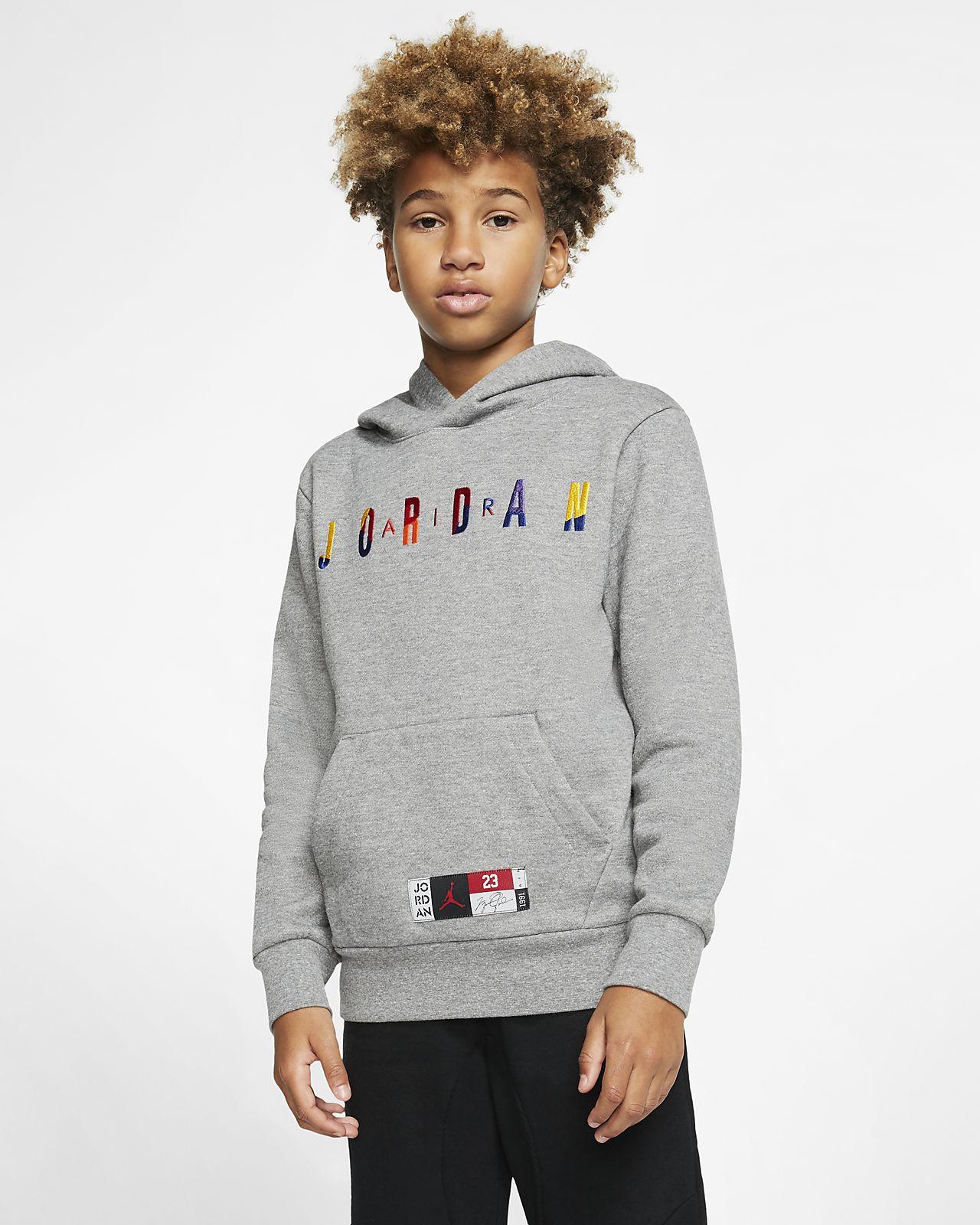 Air Jordan Older Kids' (Boys') Fleece Pullover Hoodie