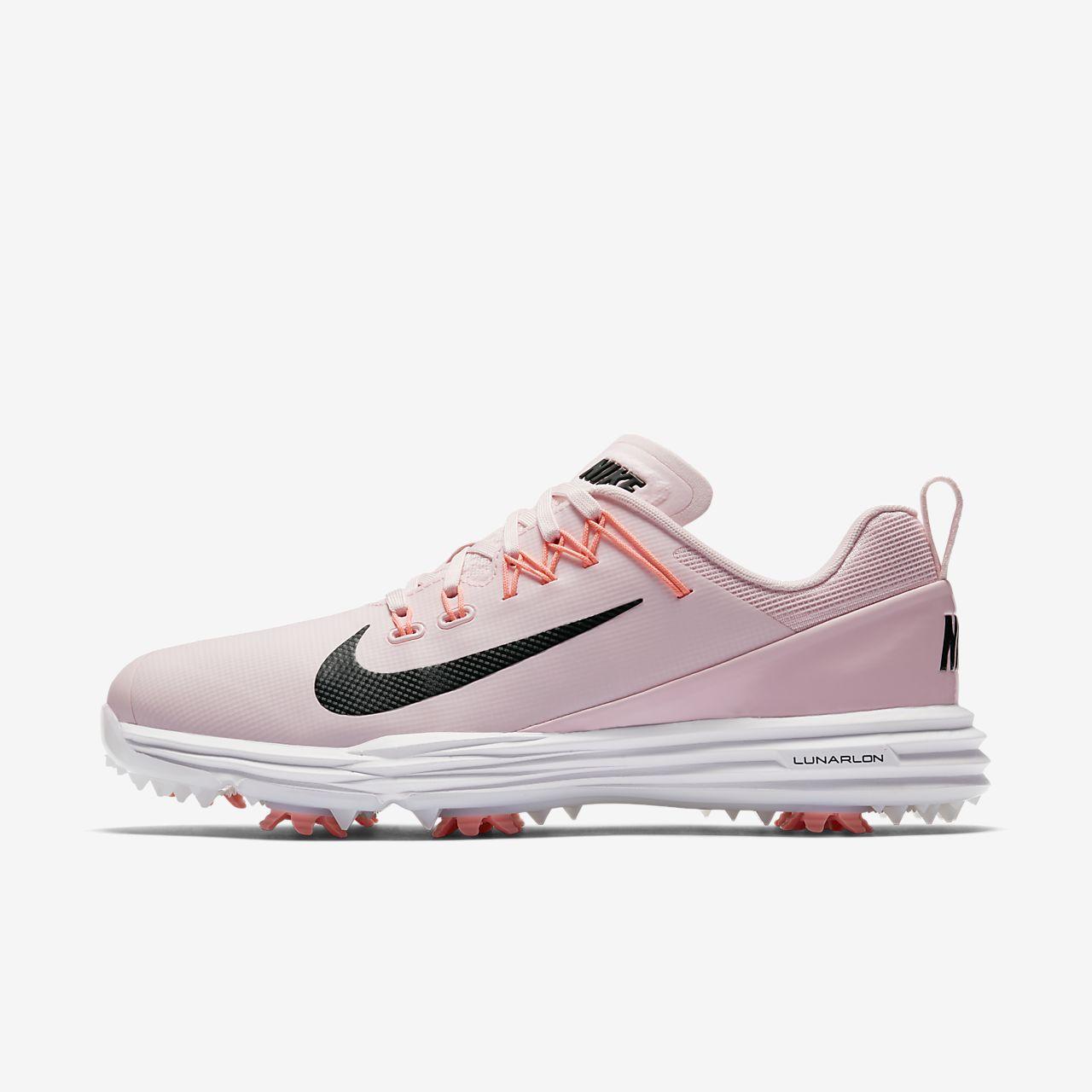 Women Shoes - Nike Lunar Classics Golf Shoes Black