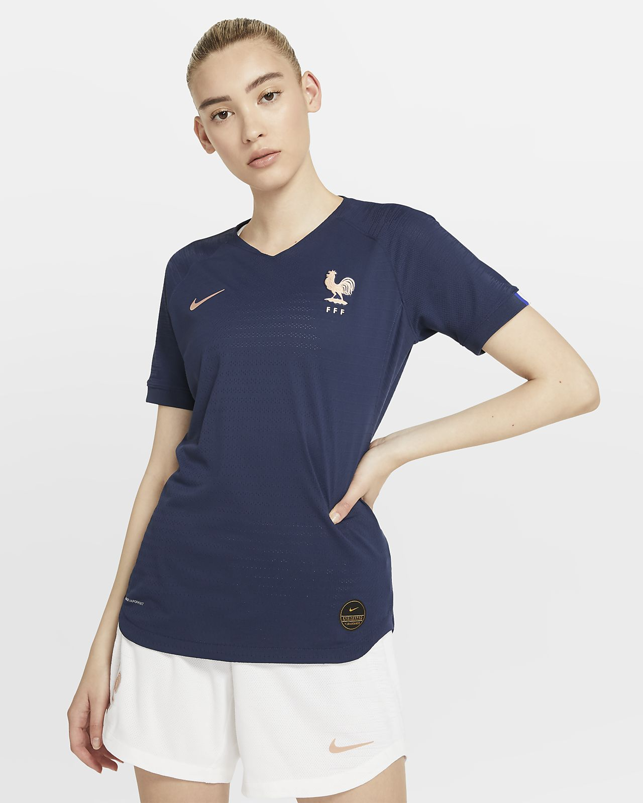 FFF 2019 Vapor Match Home Women's Football Shirt
