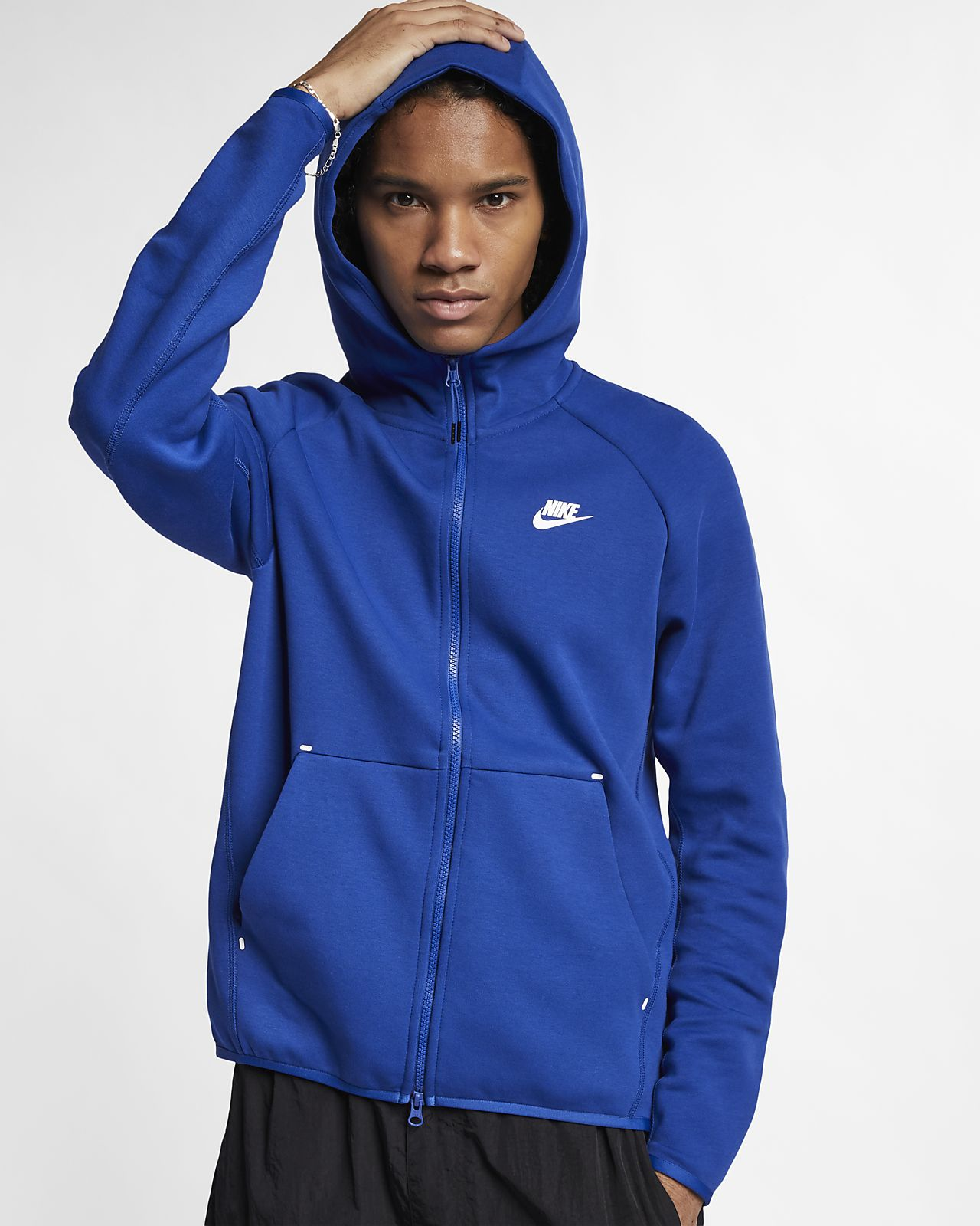 Sudadera con capucha de cierre completo para hombre Nike Sportswear Tech Fleece