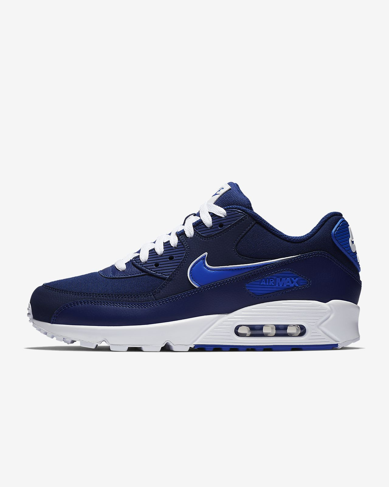 AIR MAX 90 ESSENTIAL - Sneaker low - blue void/game royal/white