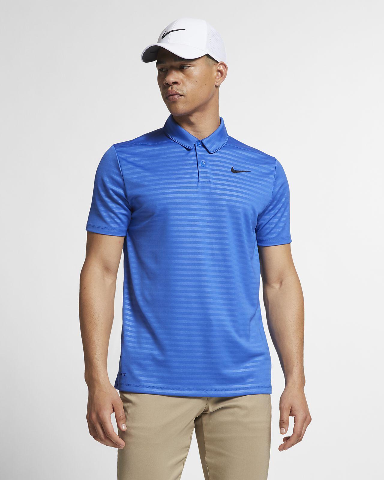 Golfpikétröja Nike Essential Embossed med standardpassform för män