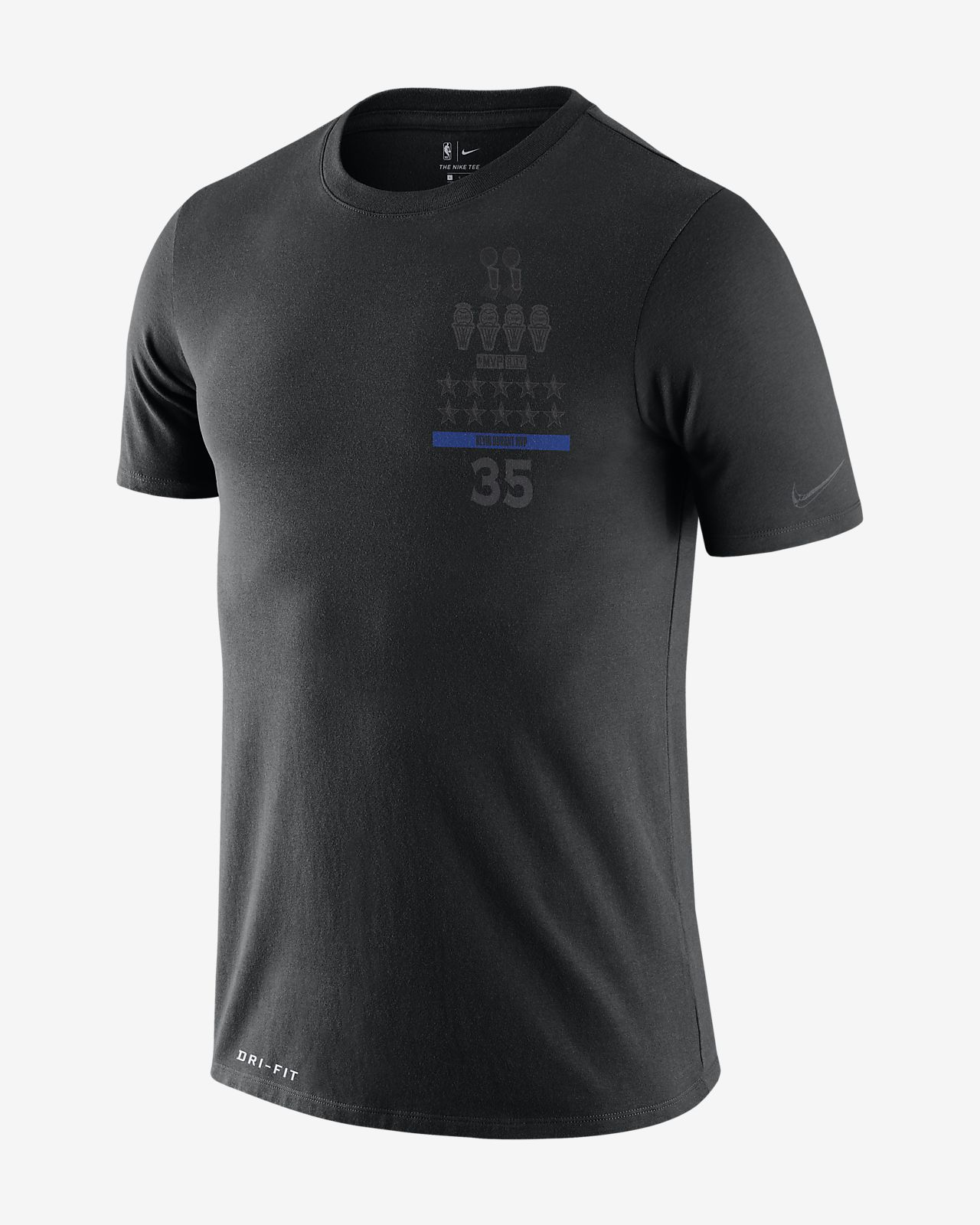 Tee-shirt NBA Kevin Durant Nike Dri-FIT « MVP » pour Homme