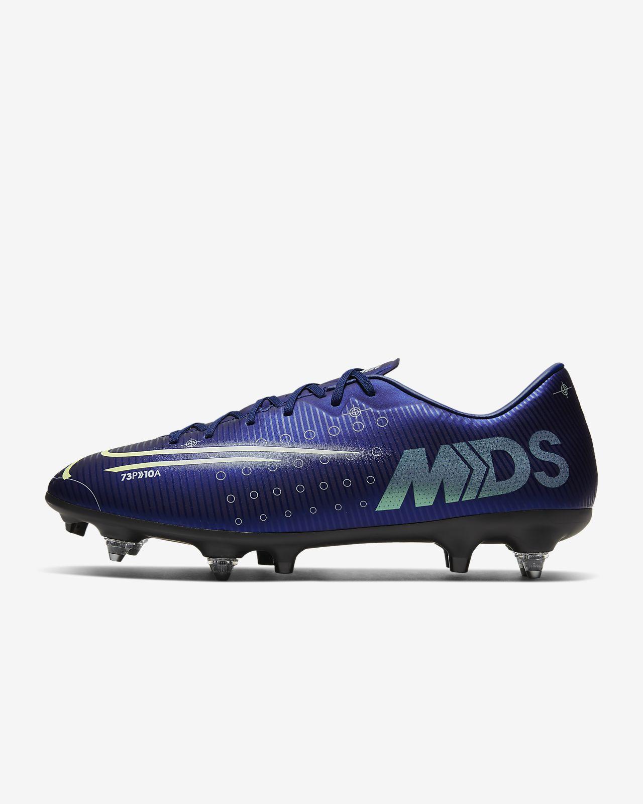 Calzado de fútbol para terreno blando Nike Mercurial Vapor 13 Academy MDS SG-PRO Anti-Clog Traction