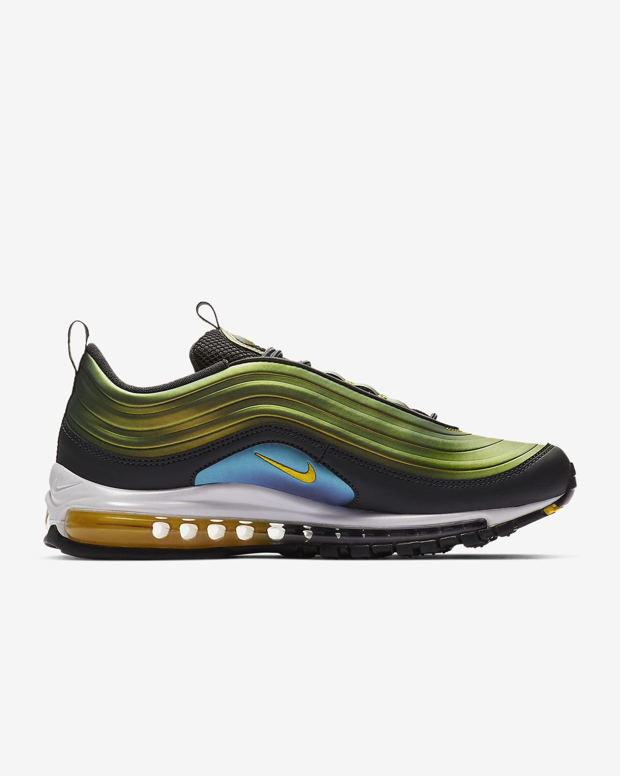 Faaqidaad : Nike air max 97 black green