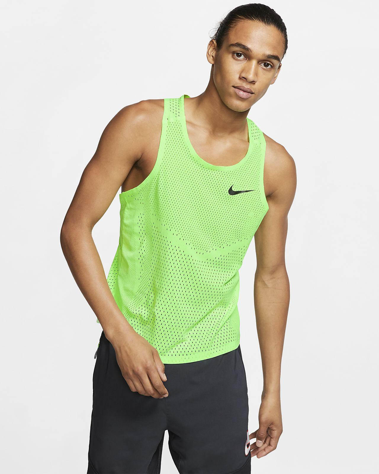 Camiseta sin mangas de running para hombre Nike AeroSwift Berlin