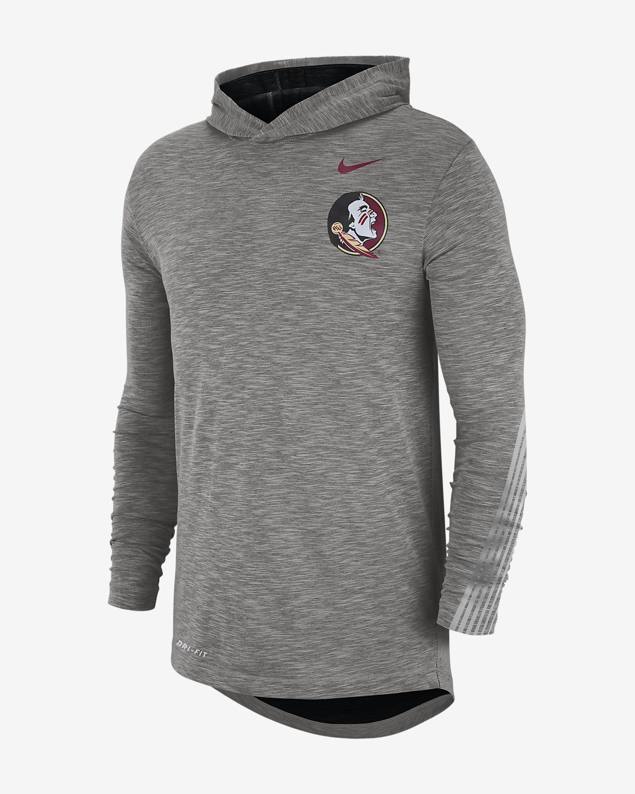 Nike College (Florida State) Men's Long-Sleeve Hooded T-Shirt