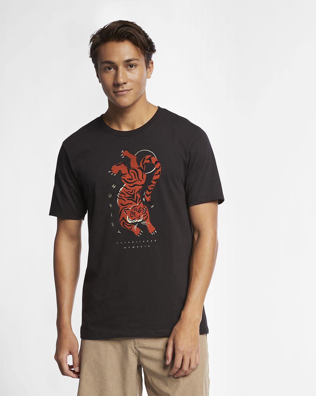 Мужская футболка Hurley Premium Tigre
