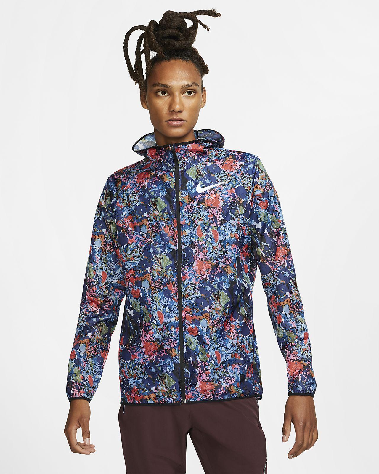 Nike Windrunner Laufjacke mit Print für Herren