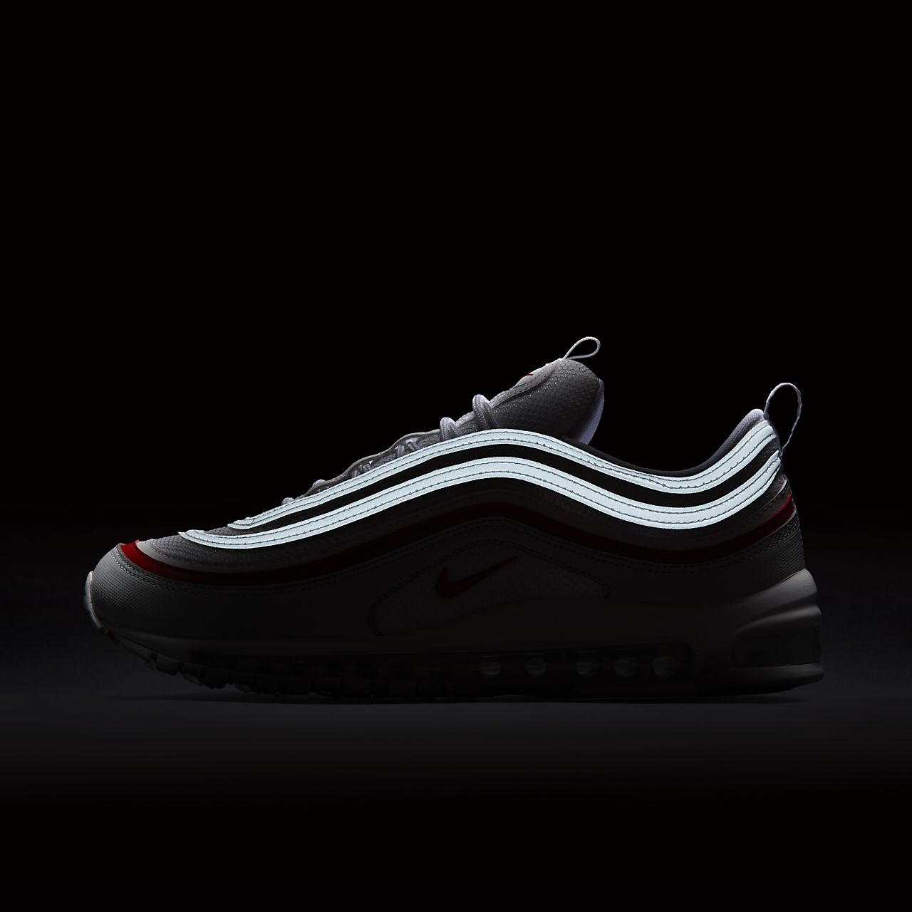 636d32de46 shop scarpa nike air max 97 og pure platinum university red bianco ar5531  002 3589a 62a1e