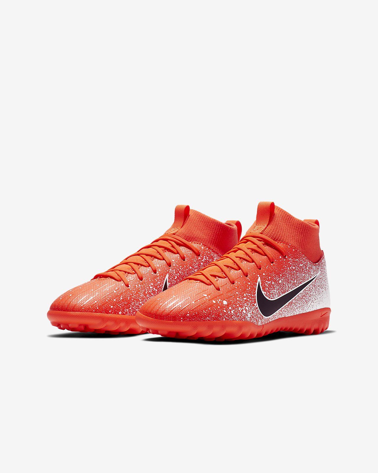 Football Nike Academy Synthétique 6 De Pour Enfantenfant Surface Chaussure Jeune JrMercurial Âgé Tf Plus Superfly OPkuZXi