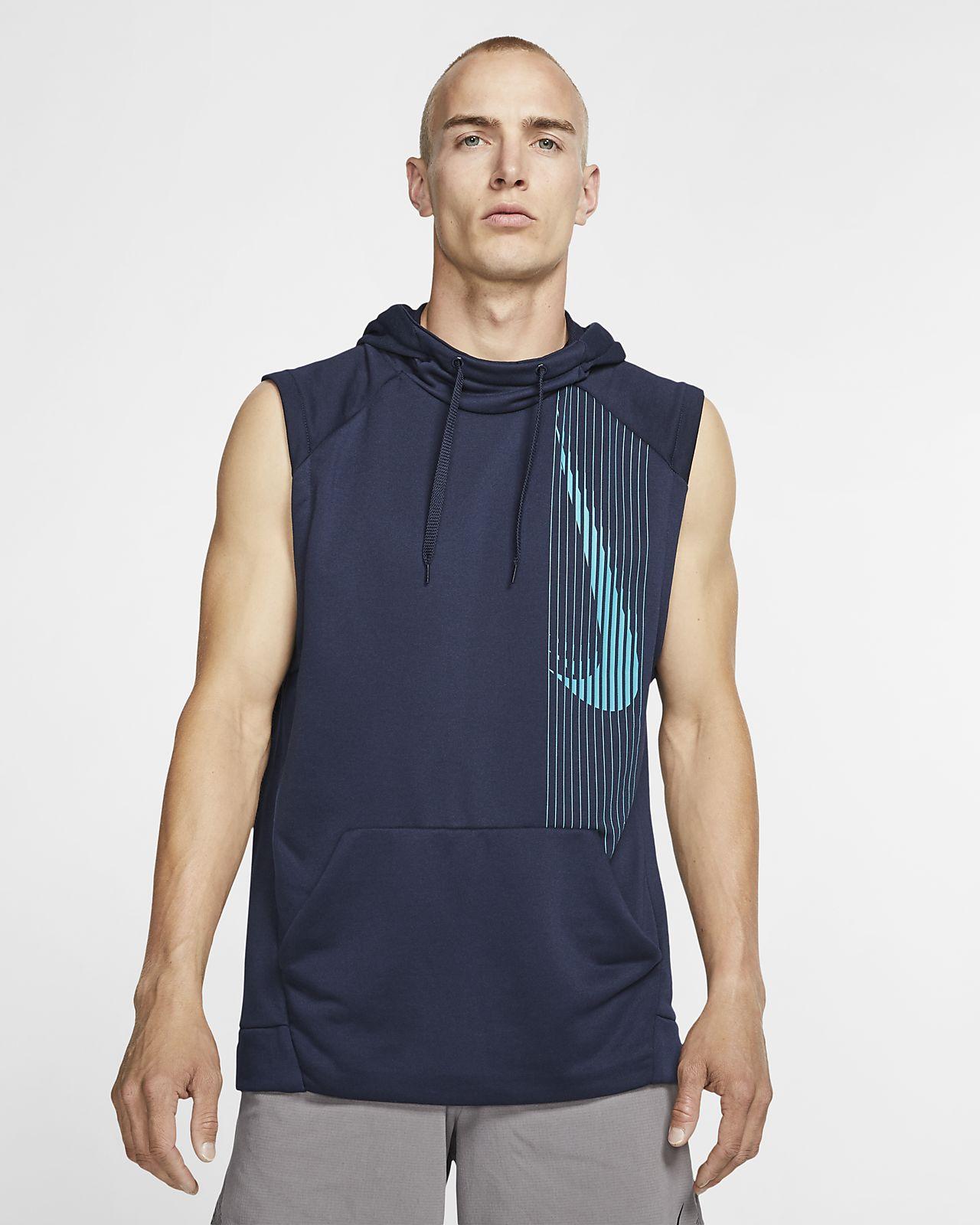 Sudadera con capucha de entrenamiento sin mangas para hombre Nike Dri-FIT