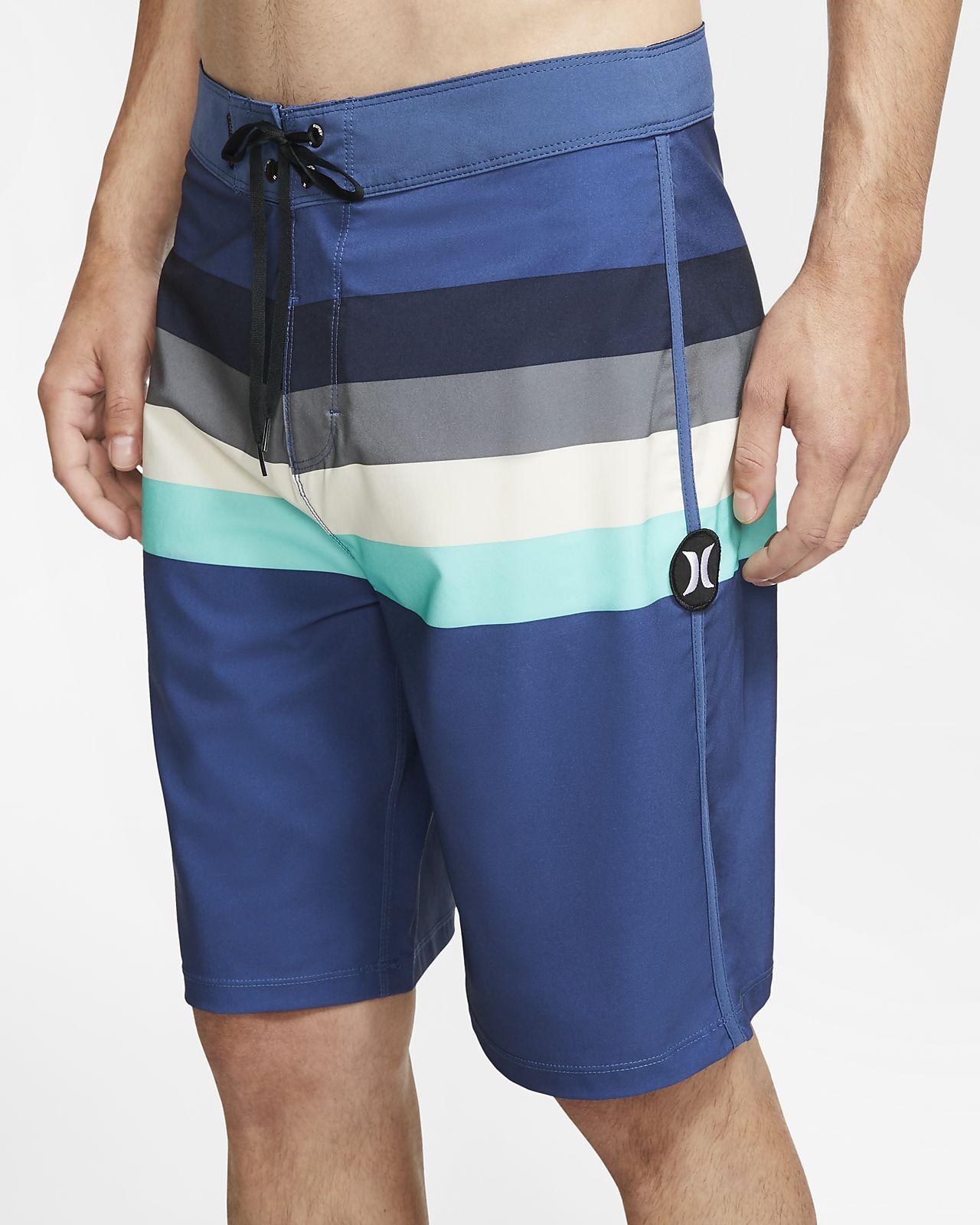 Shorts de playa de 51 cm para hombre Hurley Phantom Jetties