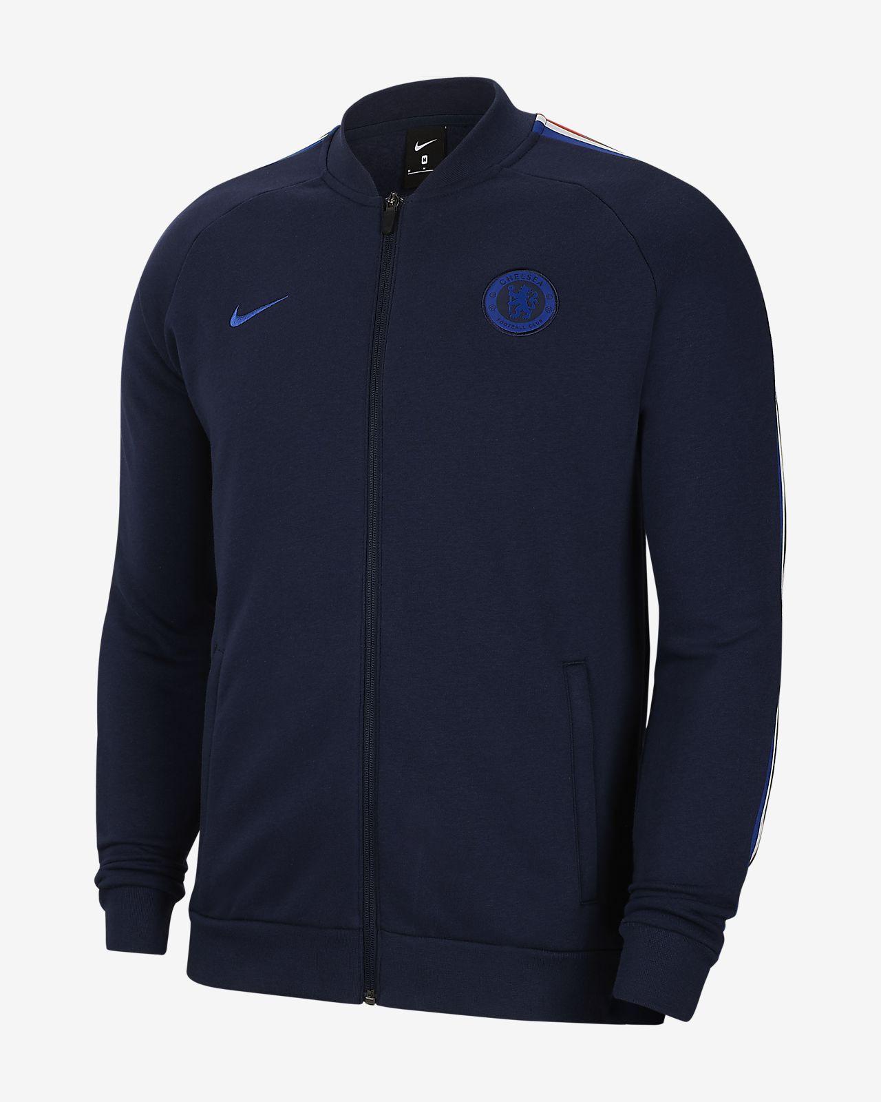 Veste de survêtement en tissu Fleece Chelsea FC pour Homme