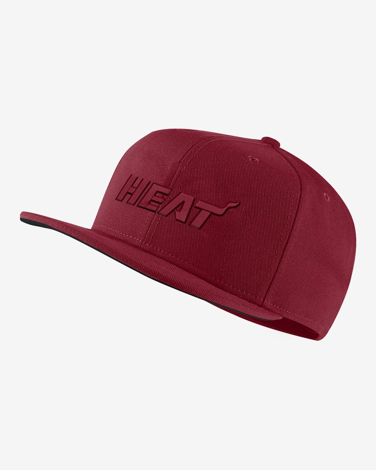 Casquette NBA Miami Heat Nike AeroBill