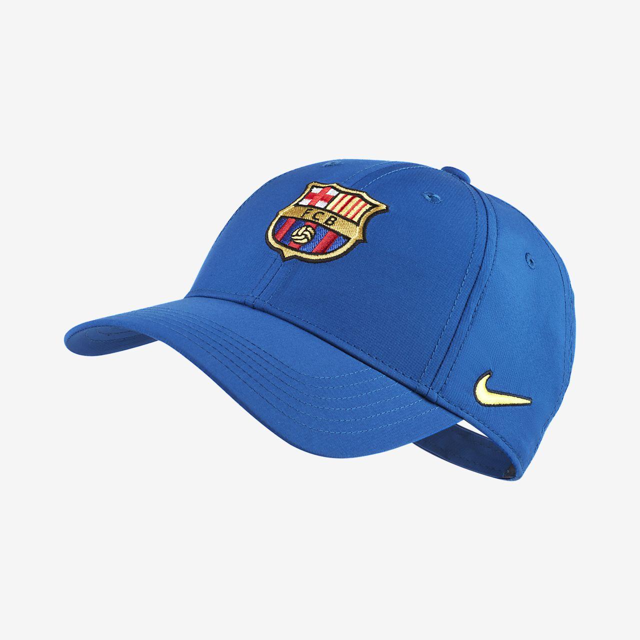 7a1cd5e3e43c85 Nike Dri-FIT FC Barcelona Older Kids' Adjustable Hat. Nike.com SE