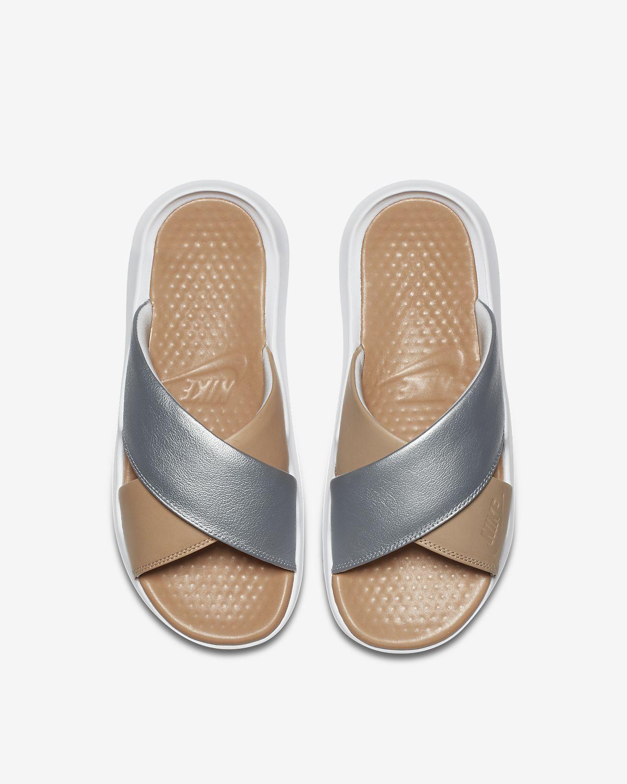 online retailer dc5a5 60ced ... Claquette Nike Benassi Future Cross SE Premium pour Femme
