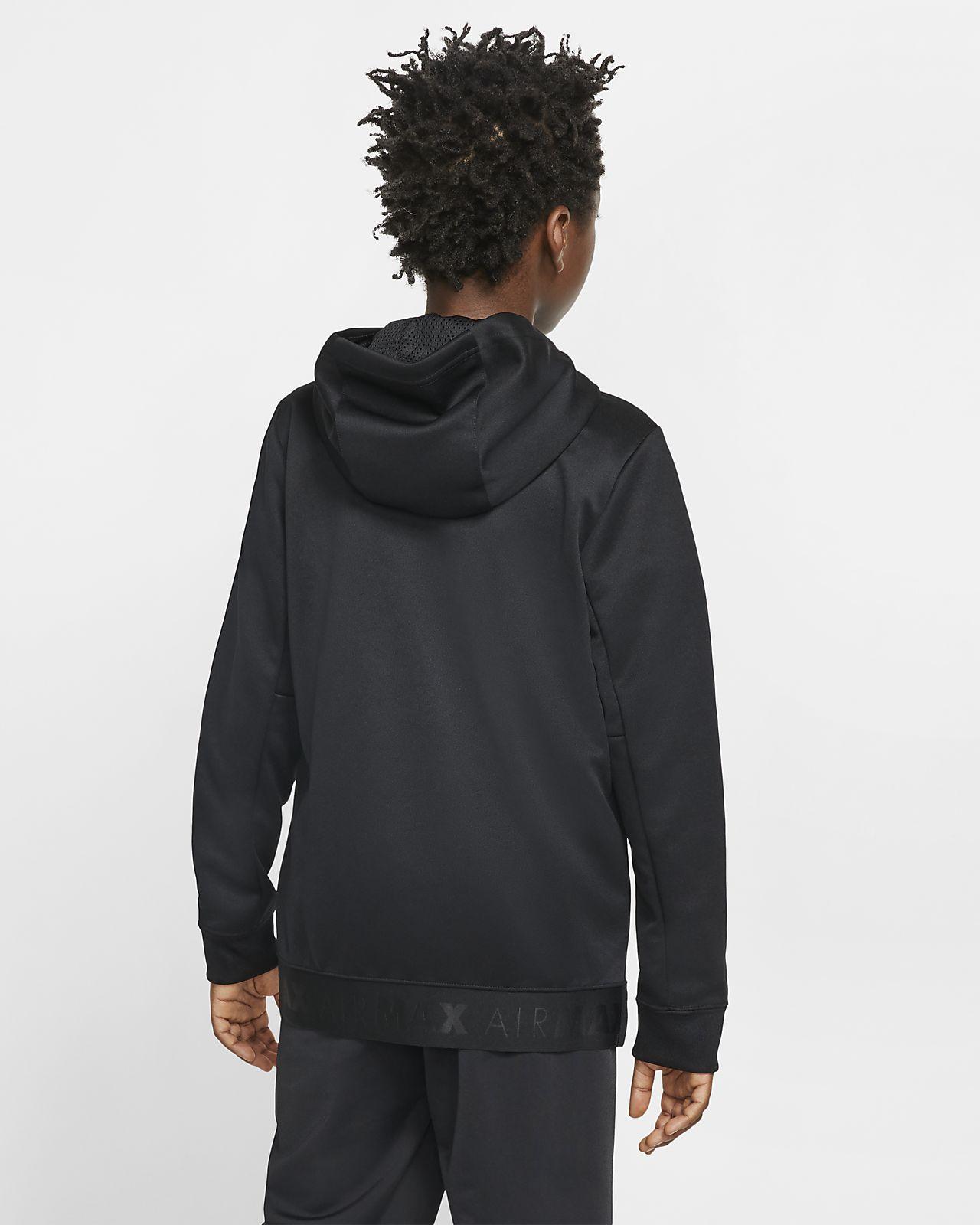 Nike Sportswear Air Max Older Kids' (Boys') Full Zip Hoodie