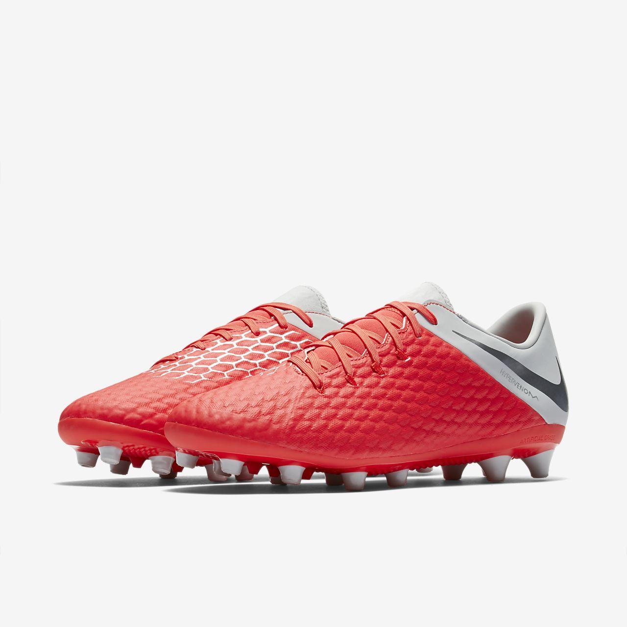 51a65095260 ... Calzado de fútbol para pasto artificial Nike Hypervenom III Academy  AG-PRO