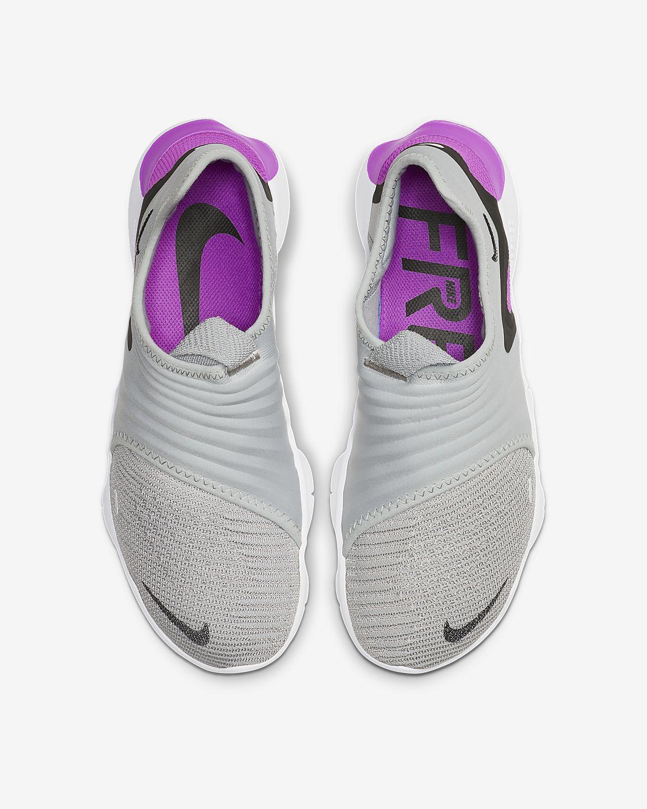 Nike Free Rn Flyknit Mädchen Grundschule Laufschuhe Weiß