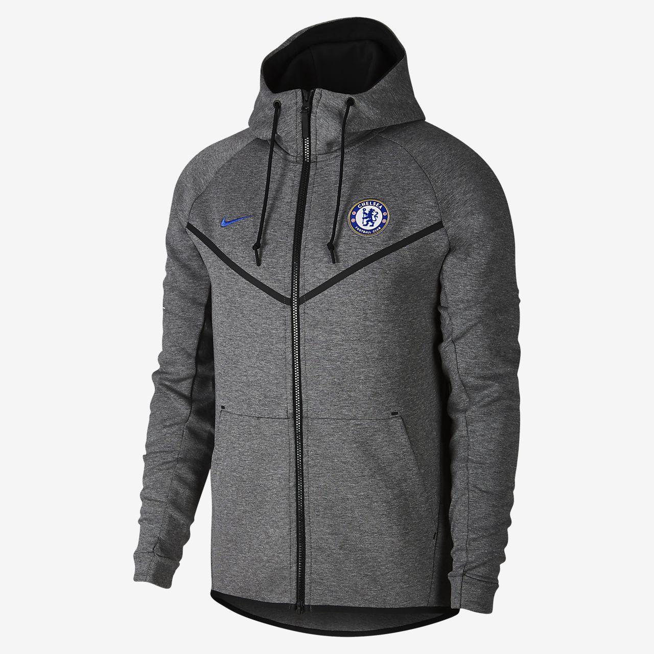 ddb9577e505b Chelsea FC Tech Fleece Windrunner Men s Hoodie. Nike.com BE