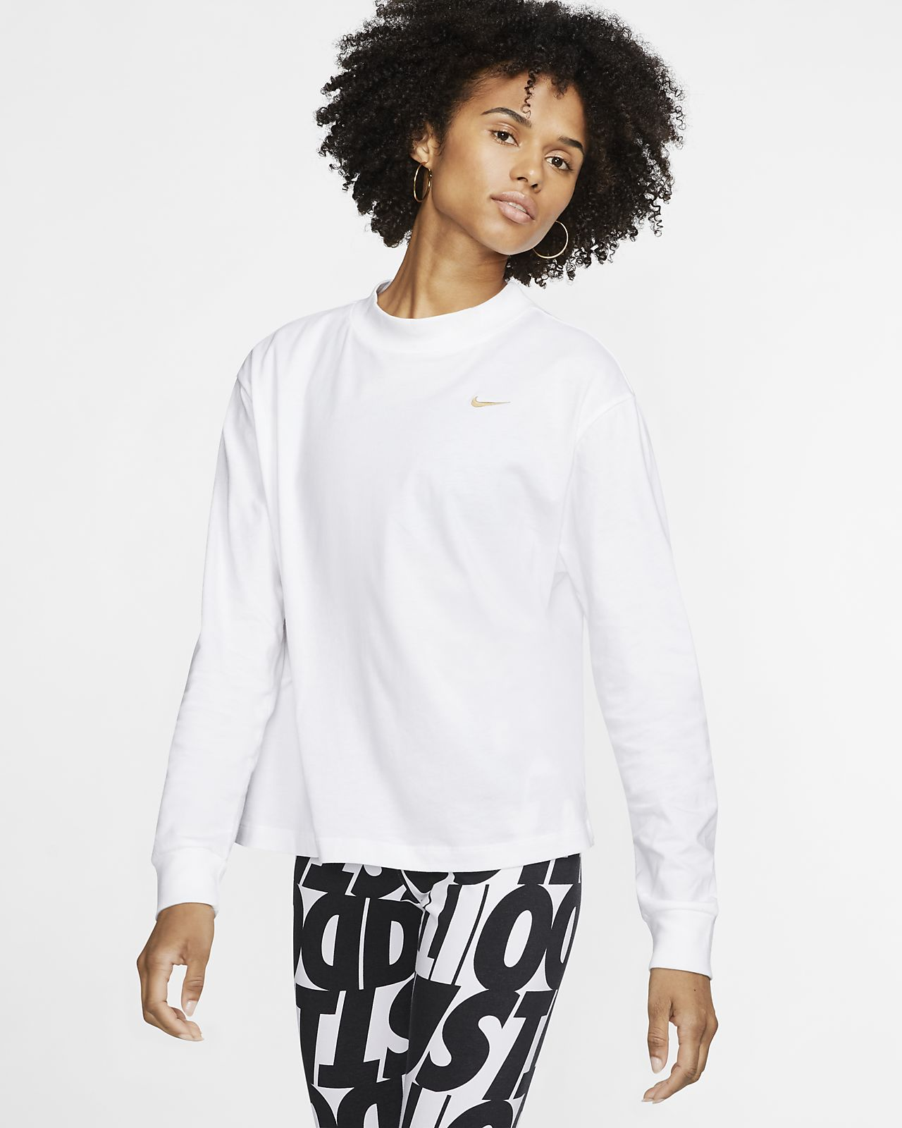 Женская футболка с длинным рукавом Nike Sportswear Essential