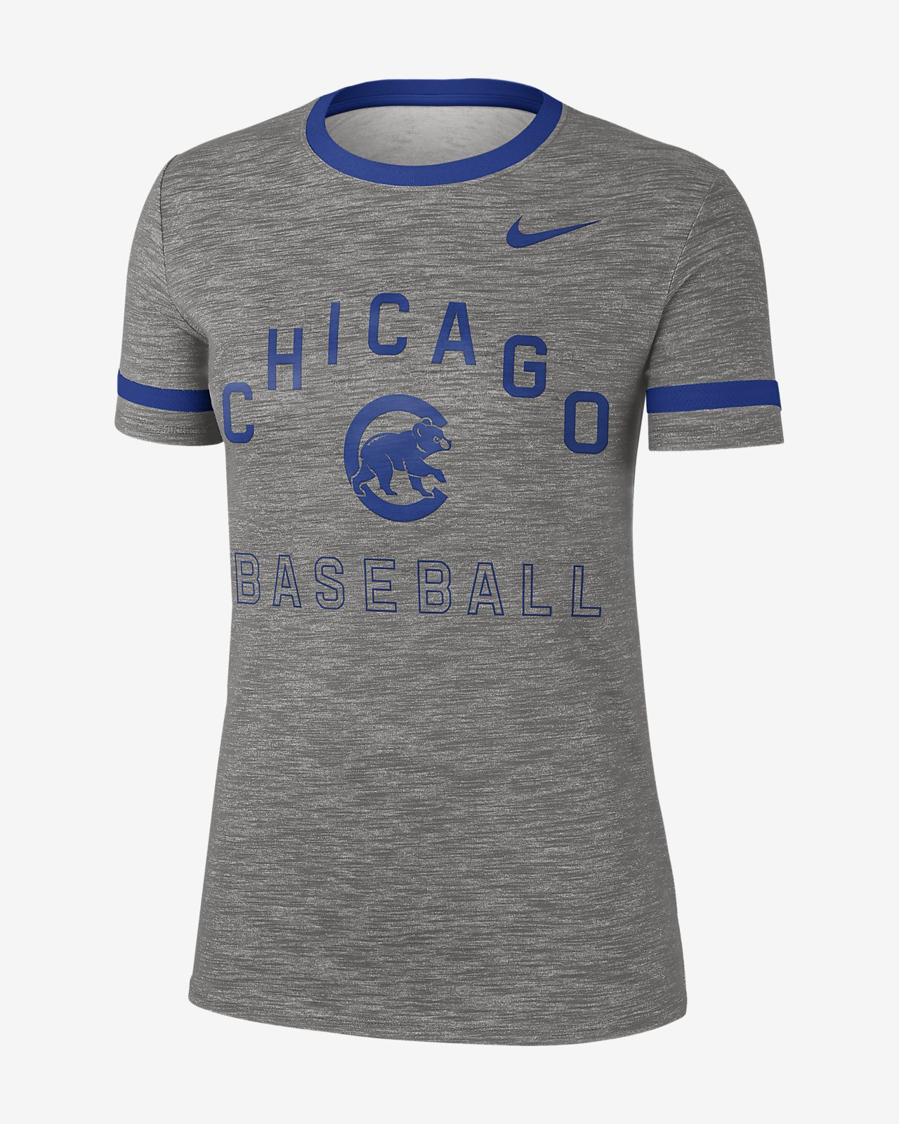 Women's T-Shirt. Nike Dri-FIT (MLB Cubs)