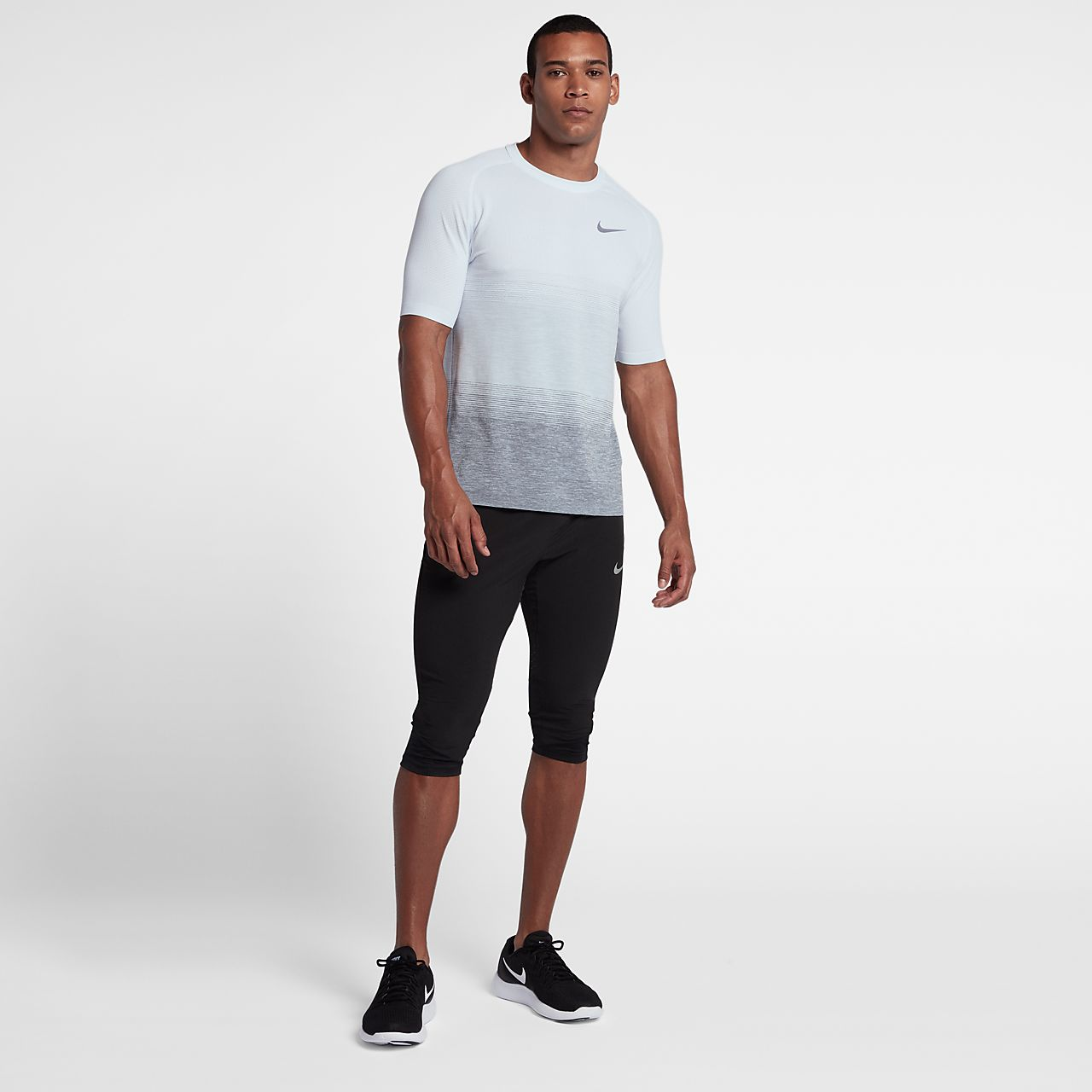 ... Nike Dri-FIT Knit Men's Short-Sleeve Running Top