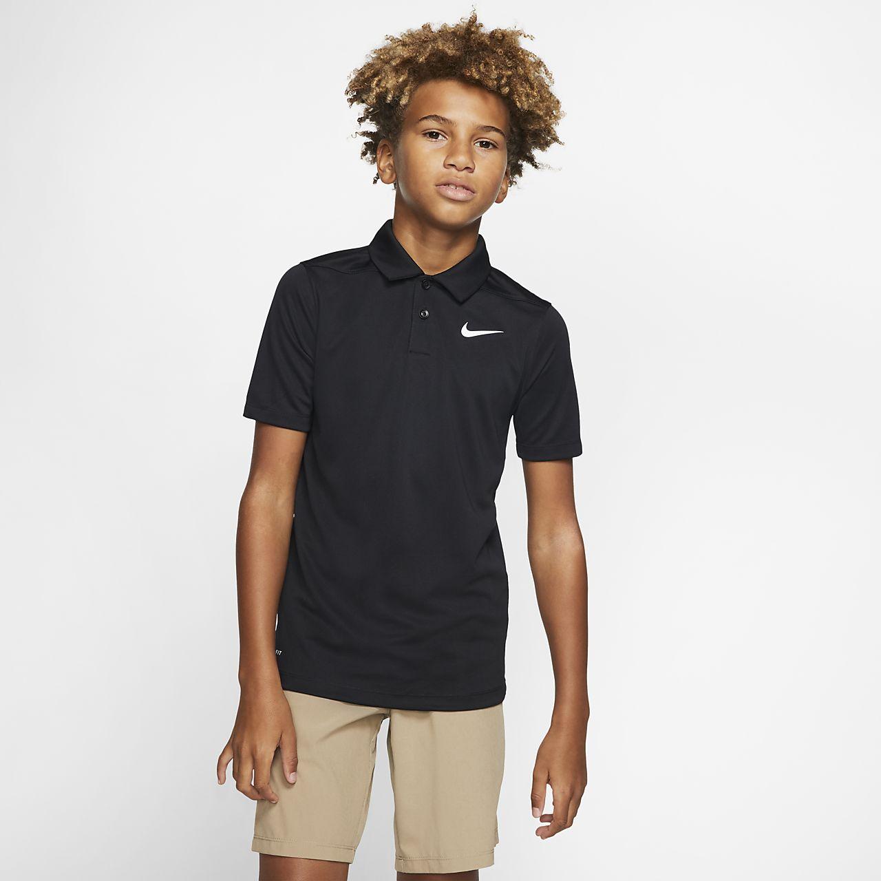 Nike Dri-FIT Victory Golf-Poloshirt für ältere Kinder (Jungen)