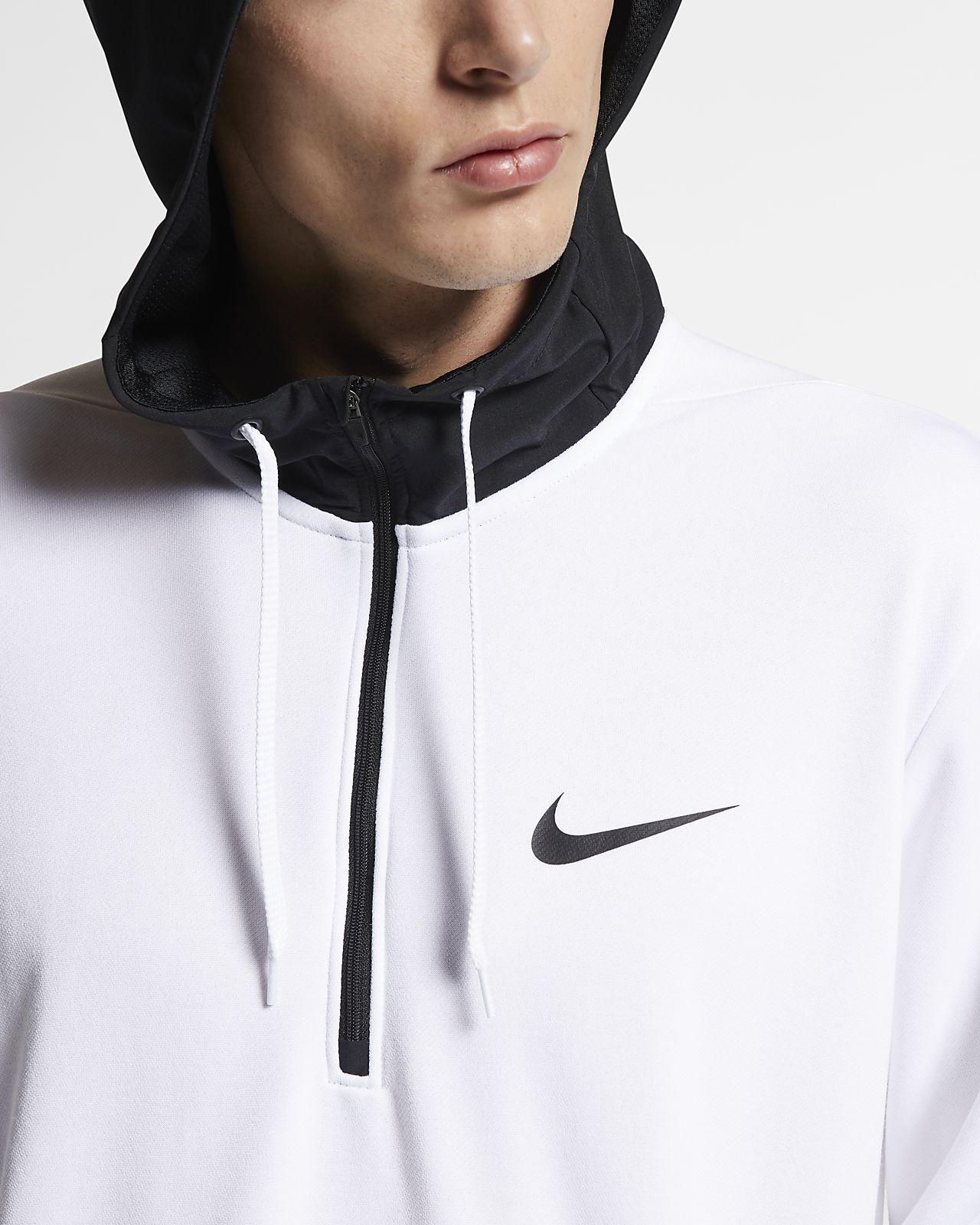 Nike Men Pullover Fleece Hoodie in 2019   White nike hoodie