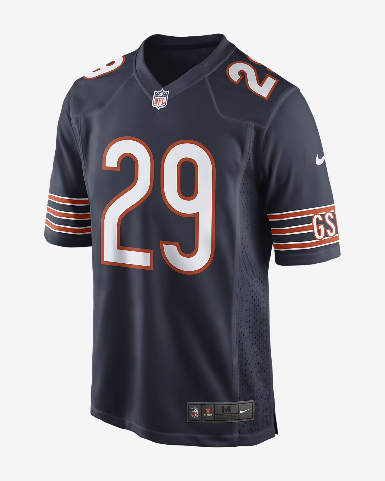 NFL Chicago Bears Men's Game Football Jersey