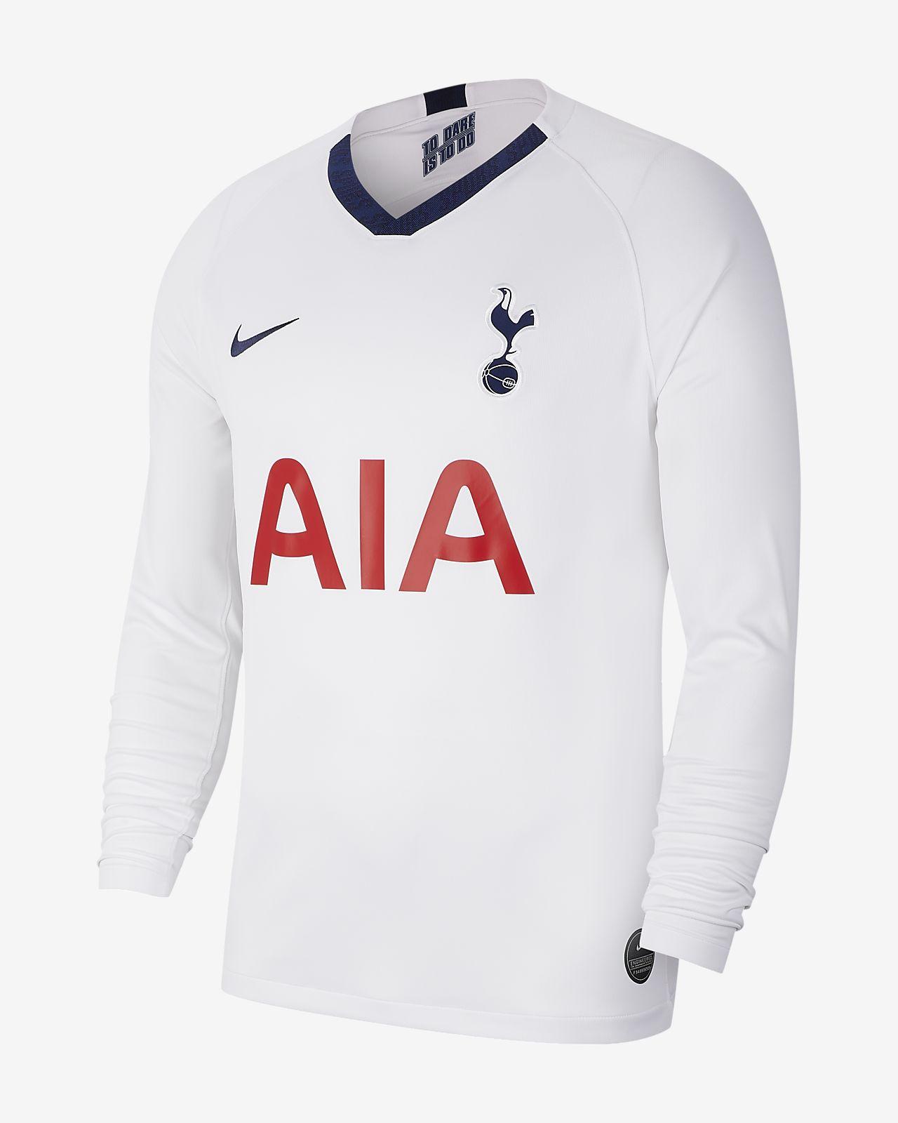 Męska koszulka piłkarska z długim rękawem Tottenham Hotspur Stadium Home 2019/20
