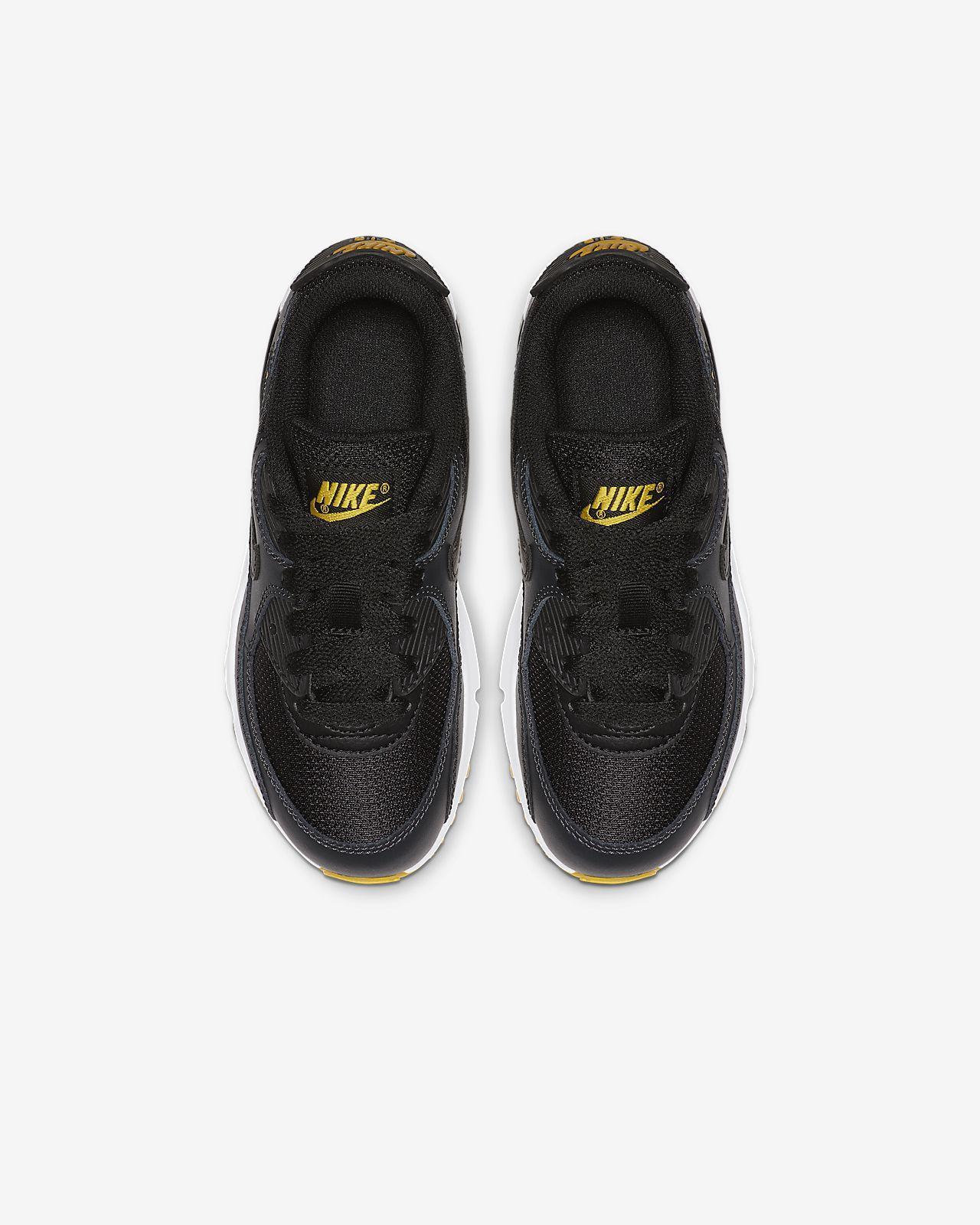 Nike Air Max 90 Mesh Schuh für jüngere Kinder (27,5-35)