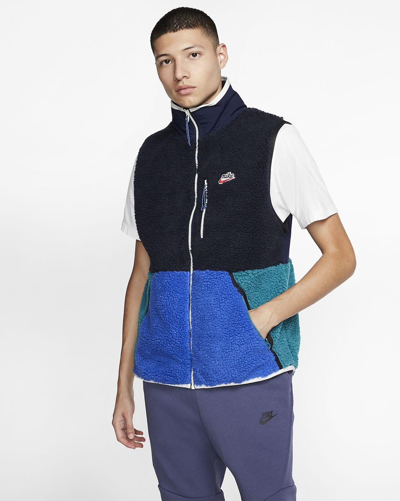 Nike Sportswear vest i sherpafleece til herre