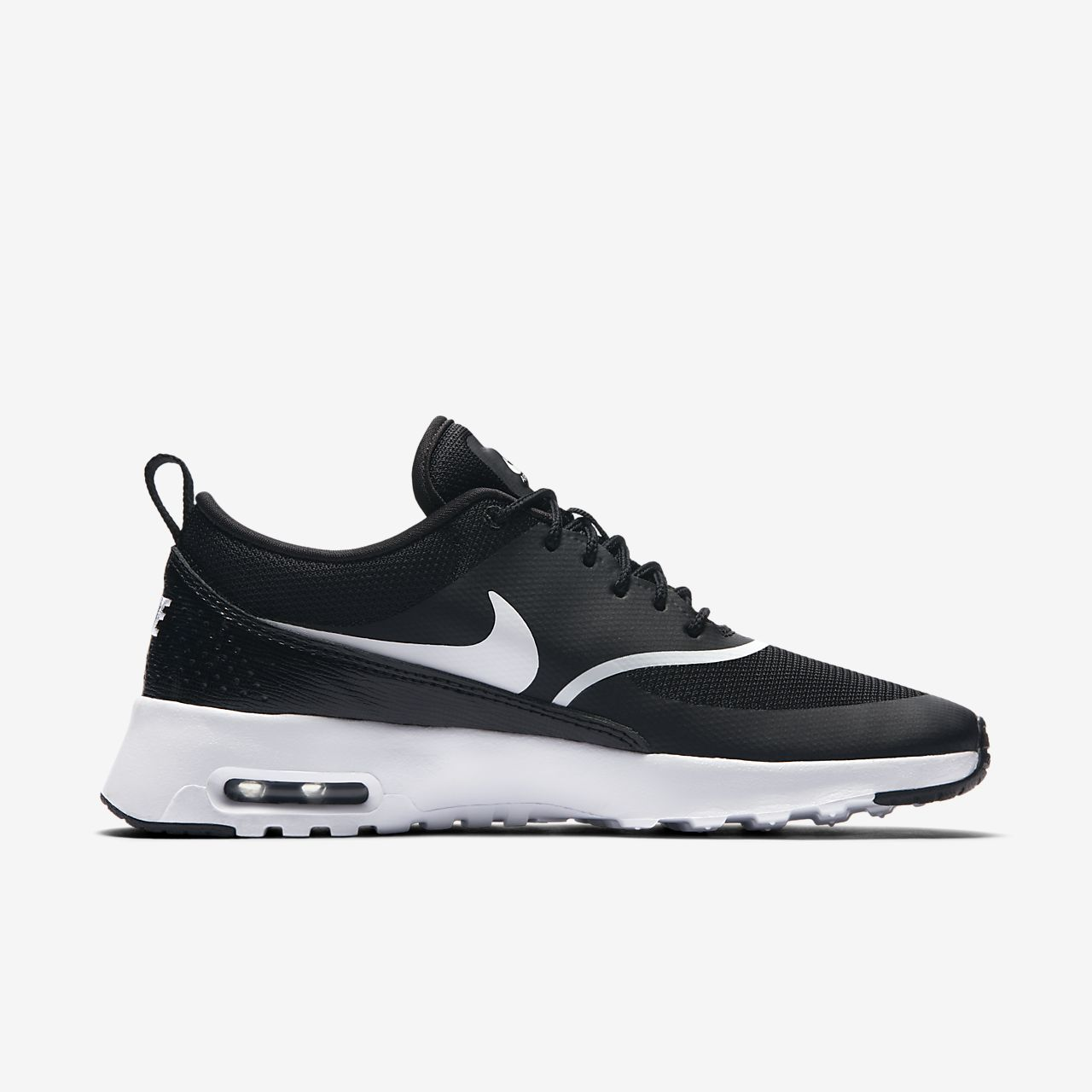 NIKE AIR MAX THEA Women Scarpe Sneaker Donna 599409020 BLACK WHITE CLASSIC